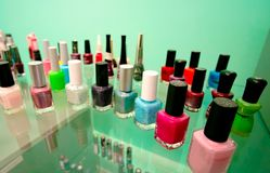 Close-up accessories for manicure art design royalty free stock image