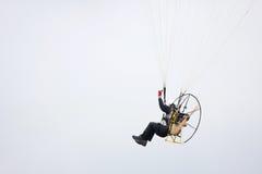 Close up accionado por motor do paraglider Imagem de Stock Royalty Free