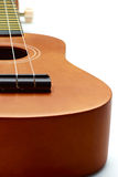 Close up of acoustic guitar Royalty Free Stock Images