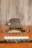 Close up Acoustic Guitar Royalty Free Stock Photos