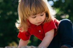Close up of the adorable boy Royalty Free Stock Photos