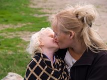 Close Up Of Affectionate Mother And Daughter Stock Image