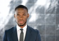 Close up african american businessman Stock Image