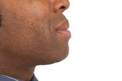 Close-up of african man Royalty Free Stock Photos