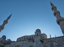 Close-up of the Aghia Sophia in Istanbul Stock Image
