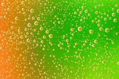 Close up of air bubble Stock Image