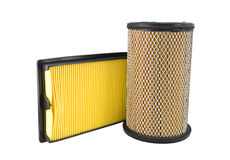 Close-up of a air filter Stock Photography