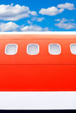 Close up of an airplane Royalty Free Stock Photos