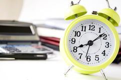 Close up alarm clock Stock Photography