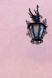 Close up of Albacyn street lamp Royalty Free Stock Photos