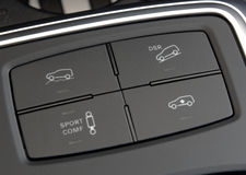Close up of a all terrain vehiclel panel royalty free stock image