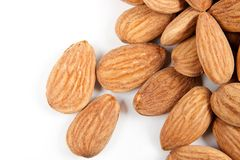 Close-up almonds 2 Royalty Free Stock Image