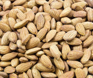 Close up of almonds Stock Photo