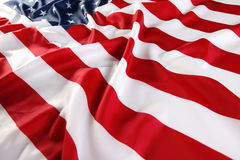 Close up of American flag Stock Image