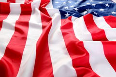 Close up of American flag Stock Photos