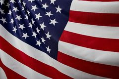 Free Close Up American Flag Wave Stock Photo - 152007330