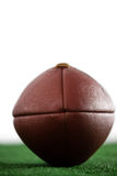 Close up of American football Royalty Free Stock Images