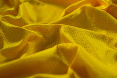 Close-up of American football jersey fabric Stock Photo