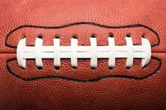 Close Up American Football Royalty Free Stock Images