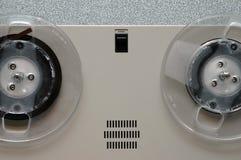 Close up análogo da máquina de fita Imagens de Stock Royalty Free