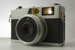 35mm Camera. Close-up of a analog compact camera 35 mm stock images