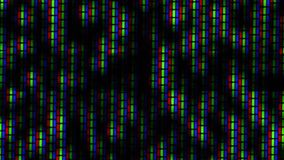 Close up of analog TV CRT kinescope noise – b&w stock video