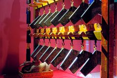 Ancient Chinese chimes royalty free stock images