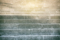 Close up of ancient steps Royalty Free Stock Photography
