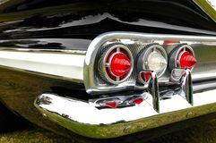 Close-up of antique car. Close-up of an antique car taillight Royalty Free Stock Image