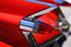 Close up of antique car Royalty Free Stock Images