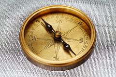 Close up of antique compass Stock Image