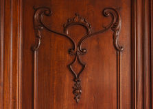 Close-up of antique furniture Royalty Free Stock Image