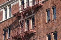 Close up of apartment building in Reno, Nevada Royalty Free Stock Photography