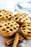 Close up of apple pies Royalty Free Stock Photos