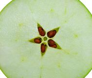 Close up apple Stock Photography