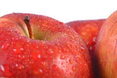 Close up of an apple Royalty Free Stock Image