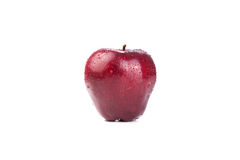 Close-up of an apple. On white background Stock Image