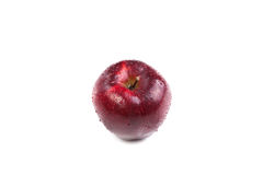 Close-up of an apple. On white background Stock Photos