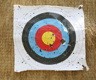 Close-up of an archery target Stock Photos