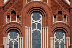 Architecture Detail of Church Royalty Free Stock Photos