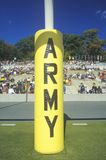 Close-up of Army College Football decoration during homecoming activities, West Point, NY royalty free stock images