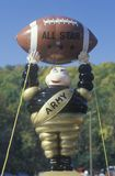 Close-up of Army College Football mascot with Football during homecoming activities, West Point, NY stock image