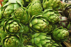 Close up of artichoke Royalty Free Stock Photo
