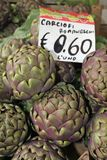 Close up of artichokes Stock Photo