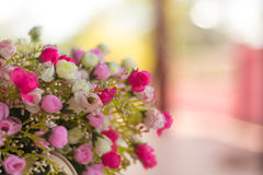 Close up Artificial Flowers Royalty Free Stock Photography