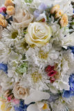 Close up of artificial flowers Stock Image