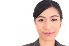 Close up Asian Business woman Stock Image
