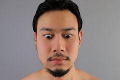 Close up of Asian man. royalty free stock photos