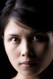 Close up of Asian woman Stock Photos