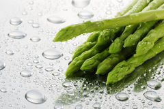 Close up asparagus Stock Photography